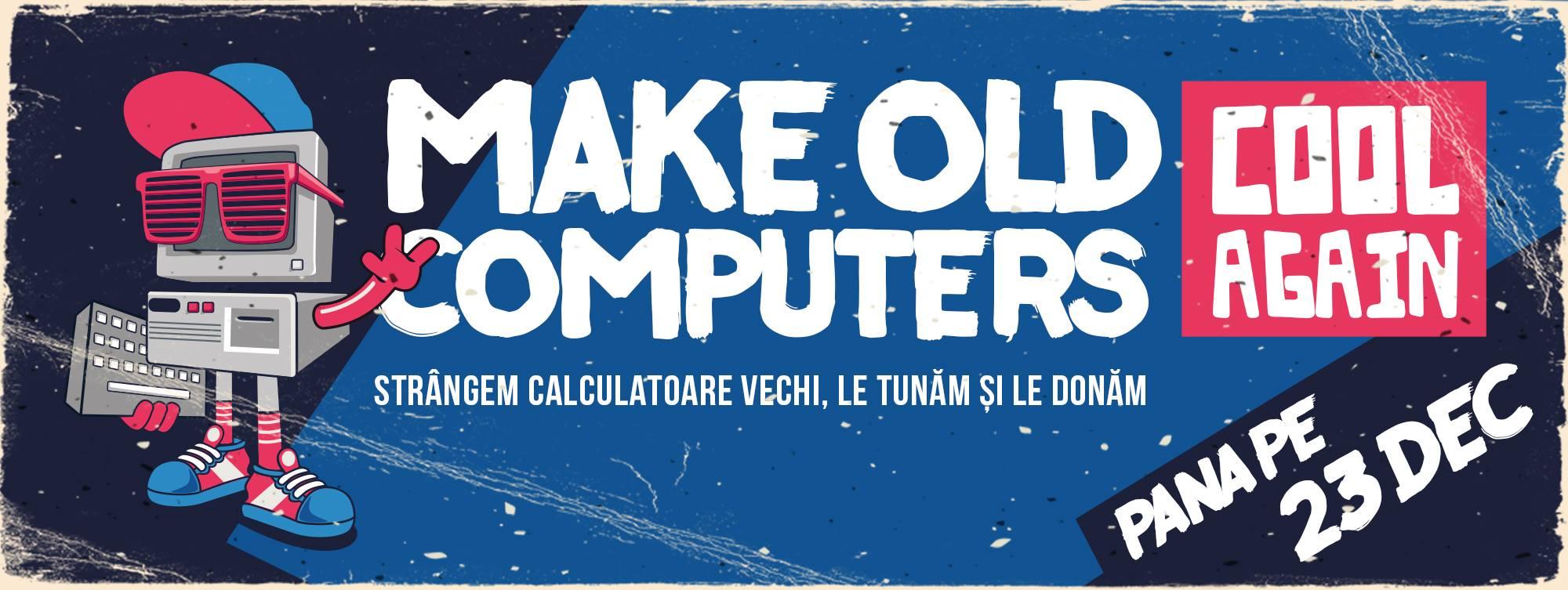 Adunăm PC-uri și componente, să le donăm de Crăciun