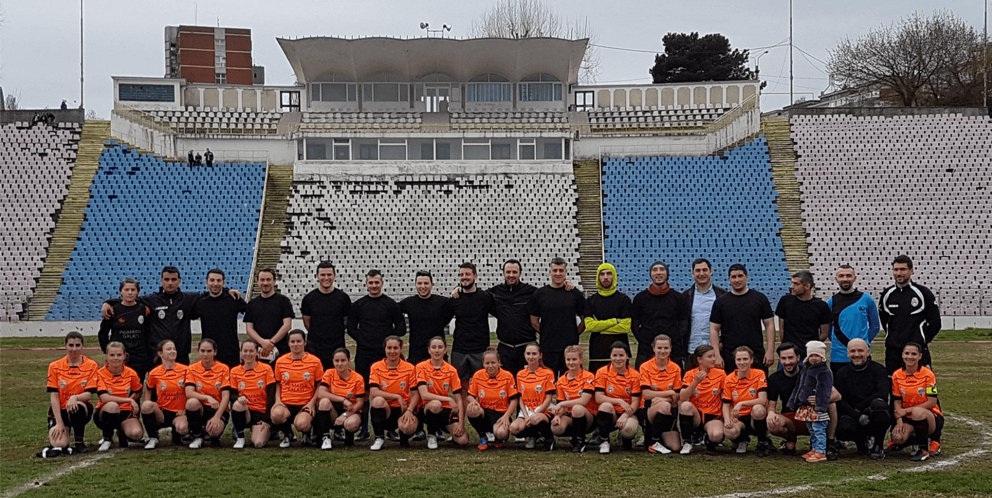 Bloggers United Galați vs AFC Universitatea Galați