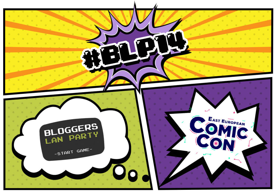 BLP14 va fi la East European Comic Con