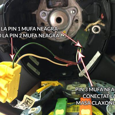 comenzi volan airbag audi a3