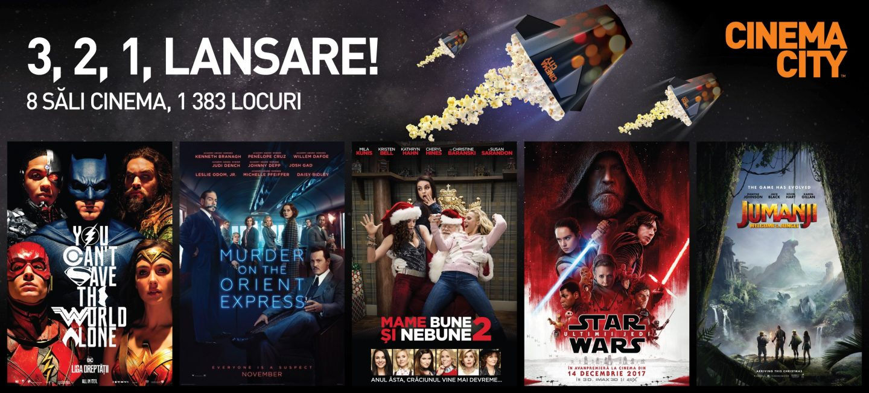 Cinema City la Galați din 17 noiembrie