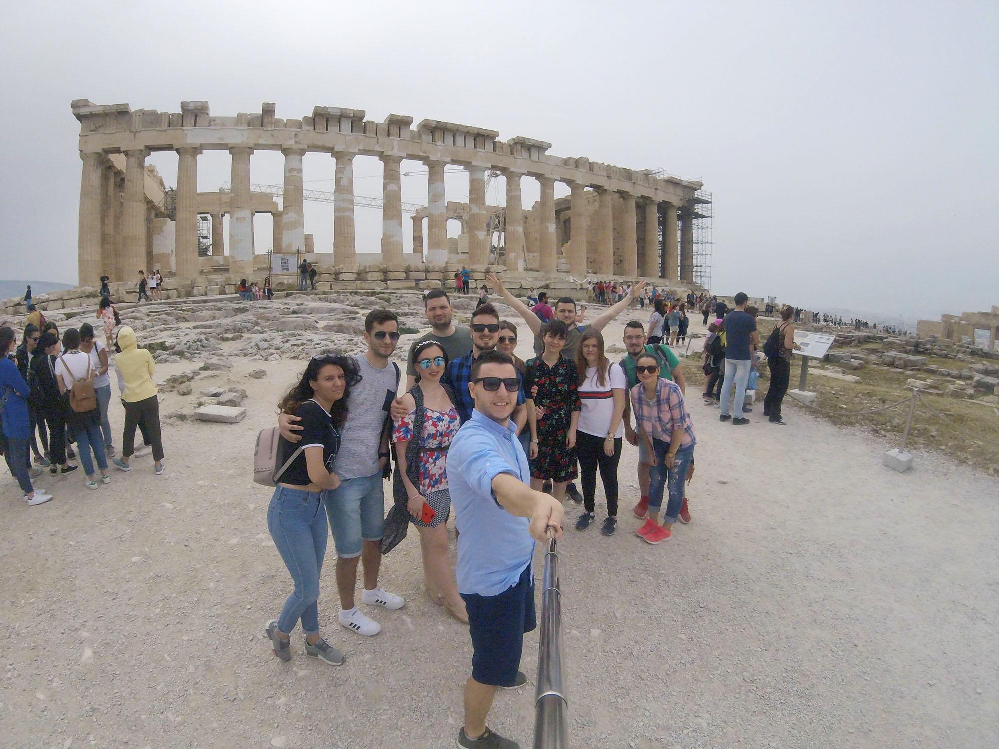 Atena în 3 zile, cu bune și cu mai puțin bune