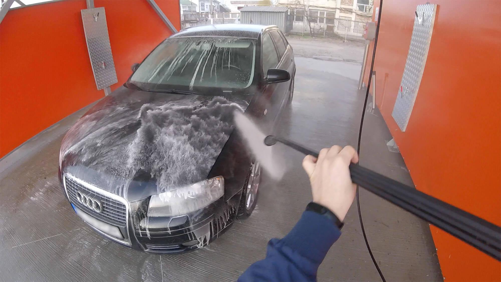 O nouă spălătorie auto self service în Galați