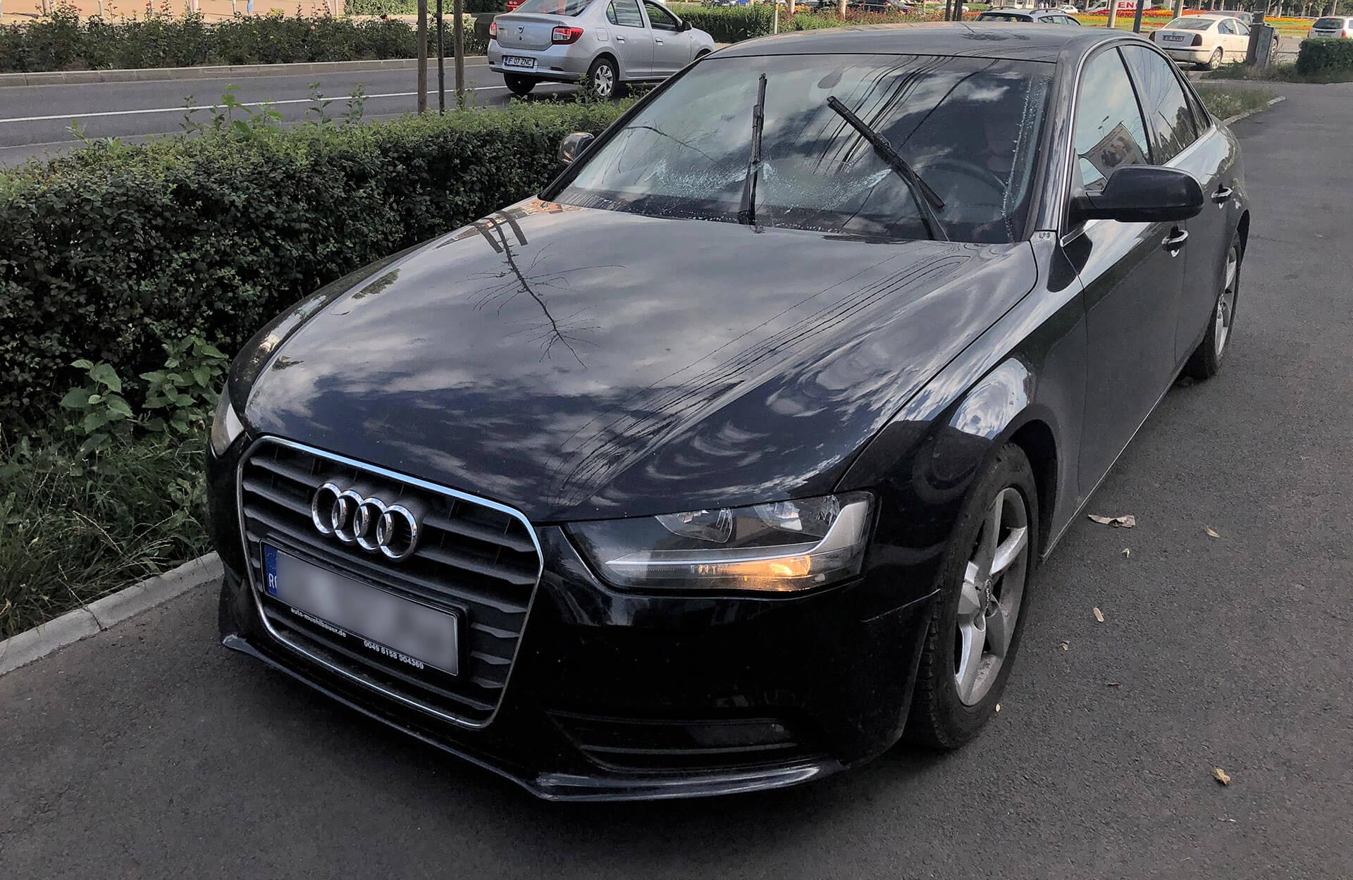 Stropitori parbriz tip perdea, pe Audi A4 și Audi A3