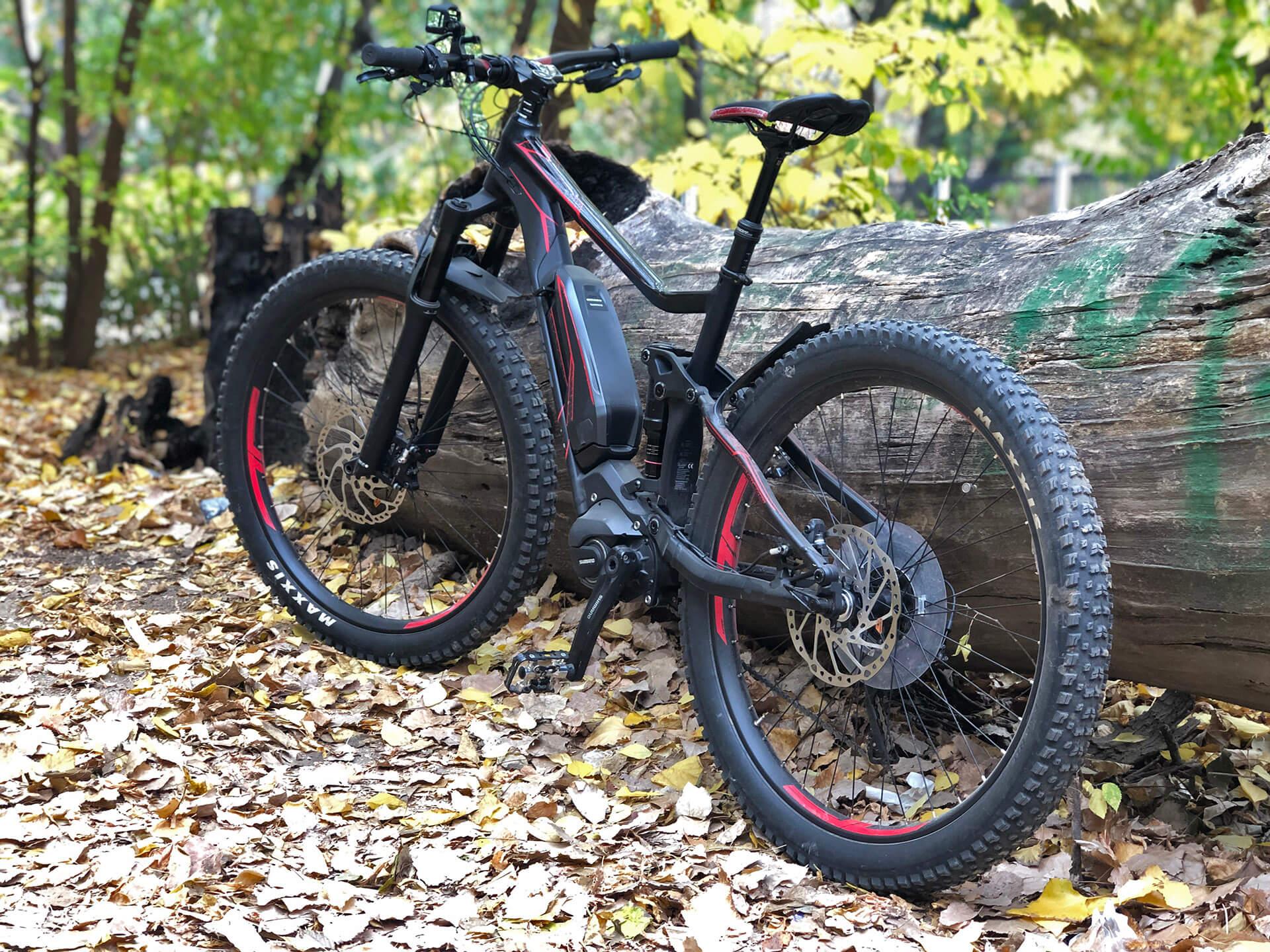 Bicicleta electrică Merida, provocarea de la Maus Bike