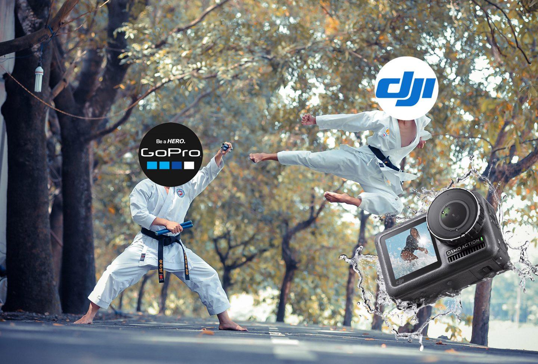 DJI a lansat Osmo Action, un fel de GoPro